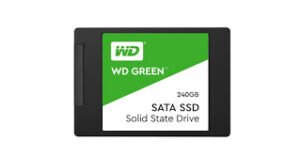 SSD Western Digital WD Green 240 GB 2.5 inch SATA III Internal SolidState Drive